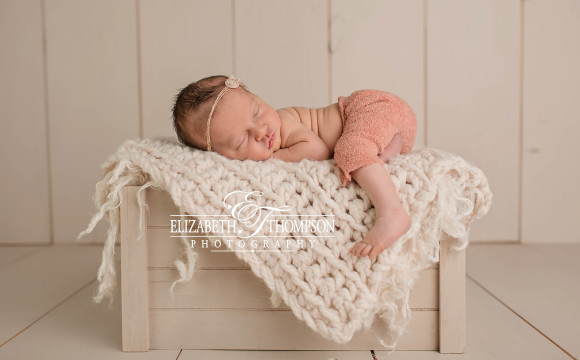 Newborn Photographer Nogales AZ – Beautiful Little Lilly Grace and Her Mommy and Daddy!