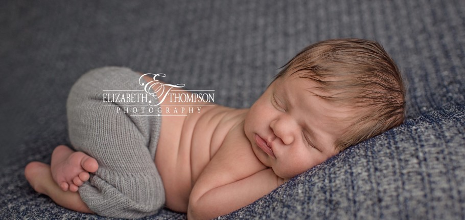 Newborn Photographer Tucson AZ – Elizabeth Thompson Newborn Photography – Handsome Little Harrison!!!